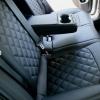 Чехлы для Hyundai Elantra 6 из черной экокожи с ромбом №12