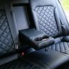 Чехлы для Hyundai Elantra 6 из черной экокожи с ромбом №13