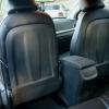 Чехлы для Hyundai Elantra 6 из черной экокожи с ромбом №14