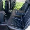 Чехлы для Hyundai Elantra 6 из черной экокожи с ромбом №15