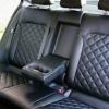 Чехлы для Hyundai Elantra 6 из черной экокожи с ромбом №16
