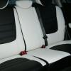 Авточехлы из черно-белой экокожи для Hyndai I20 №10
