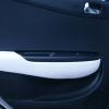 Авточехлы из черно-белой экокожи для Hyndai I20 №14