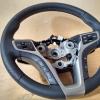 Руль Hyundai i40 из комбинации гладкой и перфорированной натуральной кожи №1