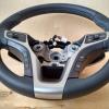 Руль Hyundai i40 из комбинации гладкой и перфорированной натуральной кожи №2
