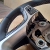 Руль Hyundai i40 из комбинации гладкой и перфорированной натуральной кожи №3