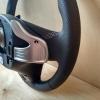 Руль Hyundai i40 из комбинации гладкой и перфорированной натуральной кожи №5