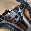 Руль Hyundai i40 из комбинации гладкой и перфорированной натуральной кожи №7