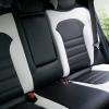 Чехлы для Hyundai IX35 из черной и белой  экокожи №5