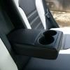 Чехлы для Hyundai IX35 из черной и белой  экокожи №6
