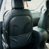 Чехлы для Hyundai IX35 из черной и белой  экокожи №7
