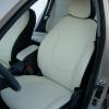 Черно-белые авточехлы Hyundai Solaris №1