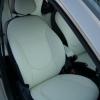 Черно-белые авточехлы Hyundai Solaris №2