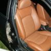 Коричневые авточехлы из экокожи для Hyundai Sonata 5 №2