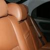Коричневые авточехлы из экокожи для Hyundai Sonata 5 №5