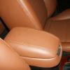 Коричневые авточехлы из экокожи для Hyundai Sonata 5 №7