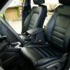 Чехлы для Hyundai Tucson 3 из черной экокожи №1