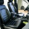Чехлы для Hyundai Tucson 3 из черной экокожи №2