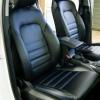 Чехлы для Hyundai Tucson 3 из черной экокожи №3