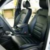 Чехлы для Hyundai Tucson 3 из черной экокожи №4