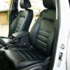 Чехлы для Hyundai Tucson 3 из черной экокожи №5