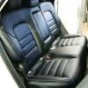 Чехлы для Hyundai Tucson 3 из черной экокожи №9