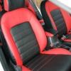 Красно-черные чехлы для Kia Cerato 2 фото 2