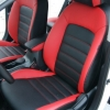 Красно-черные чехлы для Kia Cerato 2 фото 5