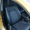 Черные авточехлы с синей строчкой Kia Ceed Pro №2