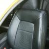 Черные авточехлы с синей строчкой Kia Ceed Pro №6