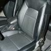 Черные авточехлы с синей строчкой Kia Ceed Pro №10