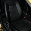 Черные авточехлы с синей строчкой Kia Ceed Pro №11