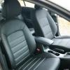 Авточехлы для Kia Cerato 3 из черной экокожи