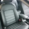 Авточехлы для Kia Cerato 3 из черной экокожи №1