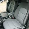 Авточехлы для Kia Cerato 3 из черной экокожи №2
