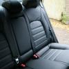 Авточехлы для Kia Cerato 3 из черной экокожи №3