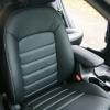 Авточехлы для Kia Cerato 3 из черной экокожи №6