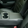 Авточехлы для Kia Cerato 3 из черной экокожи №11