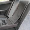 Авточехлы Kia Cerato - черная экокожа. Вставки - серый флок на флоке №4
