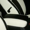 Черно-белые авточехлы для Kia Sportage №2