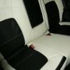 Черно-белые авточехлы для Kia Sportage №3