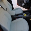 Перетяжка салона KIA Sportage - белые авточехлы из экокожи №6