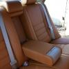Коричневые чехлы из экокожи для Toyota Avensis №7
