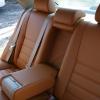 Коричневые чехлы из экокожи для Toyota Avensis №10