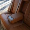 Коричневые чехлы из экокожи для Toyota Avensis №11