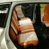 Чехлы для Ford Kuga 2 рестайлинг из красной и белой экокожи №5