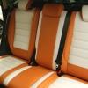 Чехлы для Ford Kuga 2 рестайлинг из красной и белой экокожи №6