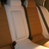 Чехлы из сочетания белой и бежевой экокожи для Mitsubishi Lancer 10 фото 2
