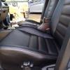Чехлы для Mitsubishi Lanser 9 из черной экокожи №3