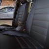 Чехлы для Mitsubishi Lanser 9 из черной экокожи №4